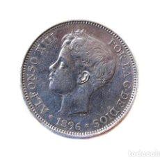 Monedas de España - Moneda 5 Pts, Alfonso XIII, 1896 - 148879106