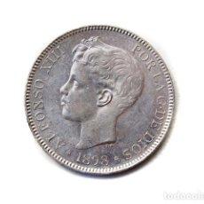 Monedas de España - Moneda 5 Pts, Alfonso XIII, 1898 - 148879110