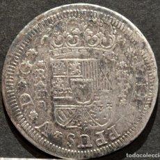 Monedas de España: 2 REALES 1727 SEGOVIA FELIPE V PLATA ESPAÑA. Lote 149378206