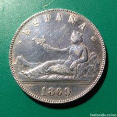 Monedas de España: 5 PESETAS PLATA. 1869 *69 SNM. GOBIERNO PROVISIONAL.. Lote 259766640
