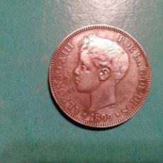 Monedas de España: RARO DURO DE 5 PESETAS DE PLATA DE 1899. Lote 149752442