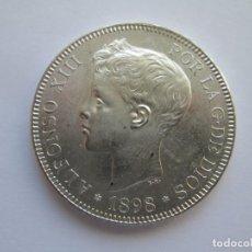Monedas de España: ALFONSO XIII * 5 PESETAS 1898*98 SG V * PLATA. Lote 150035614