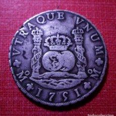 Monedas de España: FERNANDO VI - 8 REALES DE PLATA - COLUMNARIO - 1751 MEJICO . Lote 150200266