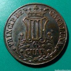 Monedas de España: ISABEL II. 1841. 6 CUAR. PRINCIPADO DE CATALUÑA.. Lote 150246248