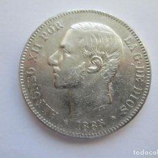 Monedas de España: ALFONSO XII * 5 PESETAS 1885*87 MP M * PLATA. Lote 150303250
