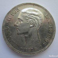Monedas de España: ALFONSO XII * 5 PESETAS 1878 *78 EM M * PLATA . Lote 150307318