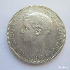 Monedas de España: ALFONSO XIII * 5 PESETAS 1899*99 SG V * PLATA. Lote 150307750