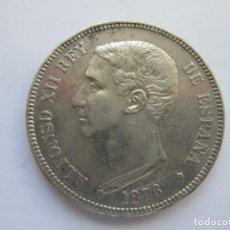 Monedas de España: ALFONSO XII * 5 PESETAS 1876*76 DE M * PLATA. Lote 150492270