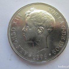 Monedas de España: ALFONSO XIII * 5 PESETAS 1896*96 PG V * PLATA. Lote 150493078