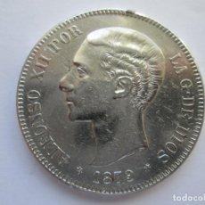 Monedas de España: ALFONSO XII * 5 PESETAS 1879 *79 EM M * PLATA. Lote 150493342