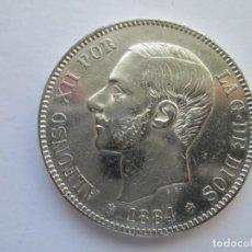 Monedas de España: ALFONSO XII * 5 PESETAS 1884*84 MS M * PLATA. Lote 150494206