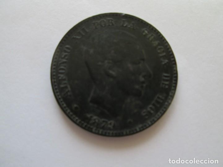 ALFONSO XII * 10 CENTIMOS 1879 BARCELONA OM * (Numismática - España Modernas y Contemporáneas - De Isabel II (1.834) a Alfonso XIII (1.931))
