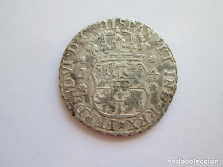 Monedas de España: FERNANDO VI * 4 REALES 1756 GUATEMALA J * PLATA - Foto 2 - 150846198