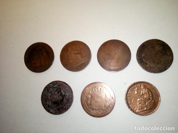 Monedas de España: 7 MONEDAS DE COBRE. 6 DE 1.870 - 1 DE 1.937 (REGULAR ESTADO). VARIAS FOTOS Y DESCRIPCION. - Foto 6 - 151209366