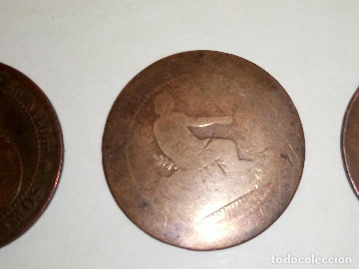 Monedas de España: 7 MONEDAS DE COBRE. 6 DE 1.870 - 1 DE 1.937 (REGULAR ESTADO). VARIAS FOTOS Y DESCRIPCION. - Foto 8 - 151209366