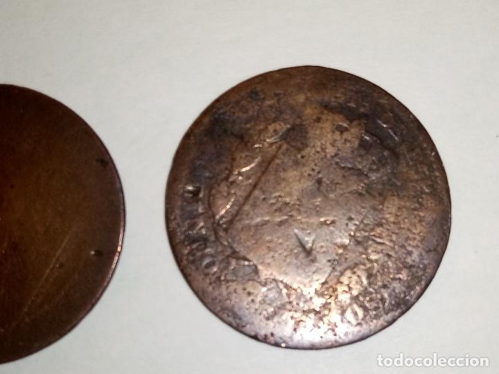 Monedas de España: 7 MONEDAS DE COBRE. 6 DE 1.870 - 1 DE 1.937 (REGULAR ESTADO). VARIAS FOTOS Y DESCRIPCION. - Foto 9 - 151209366