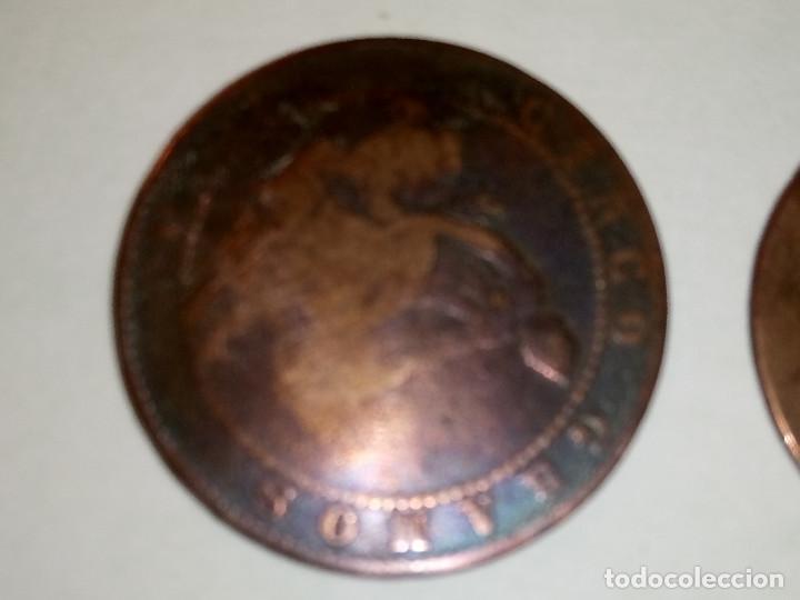 Monedas de España: 7 MONEDAS DE COBRE. 6 DE 1.870 - 1 DE 1.937 (REGULAR ESTADO). VARIAS FOTOS Y DESCRIPCION. - Foto 13 - 151209366