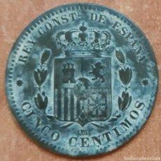 Monedas de España: MONEDA ALFONSO XII 5 CENTIMOS 1878. Lote 151293346