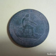Monedas de España: MONEDA DE CINCO CENTIMOS ISABEL II. Lote 151438394