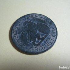 Monedas de España: MONEDA DE CINCO CENTIMOS ISABEL II. Lote 151439162