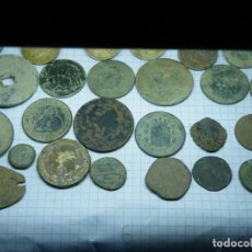 Monedas de España: LOTE 31 MONEDAS. PTAS, BLANCAS, 2,5 PTAS, ISABEL II, GOB. PROV. ETC..... Lote 151488158