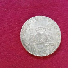 Monedas de España: 8 REALES DE PLATA. 1749. COLUMNARIO. RESTOS DE SOLDADURA. Lote 151548814