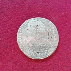 Monedas de España: 8 REALES DE PLATA. 1791. RESELLOS CHINOS. Lote 151549490