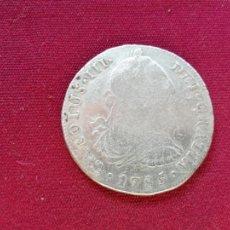 Monedas de España: 8 REALES DE PLATA. 1785. LIMA. Lote 151549654