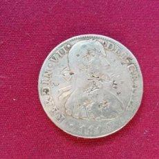 Monedas de España: 8 REALES DE PLATA. 1810. RESELLOS CHINOS. Lote 151549686