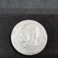 Monedas de España: 2 PESETAS 1882 PLATA ALFONSO XII MSM (*18-*82). Lote 151651330