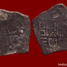 Monedas de España: FELIPE, 2 REALES DE PLATA, MACUQUINA - 23 MM / 6,64 GR.. Lote 152063578