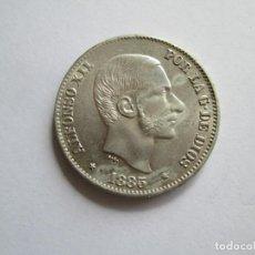 Monedas de España: ALFONSO XII * 50 CENTAVOS DE PESO 1885 - FILIPINAS * PLATA S/C. Lote 152230282