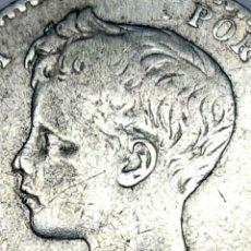 Monedas de España: PLATA ESCASA! 1896*9*6 PGV. 50 CÉNTIMOS. Lote 152591758