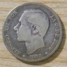 Monedas de España: 1 PESETA ALFONSO XII 1882 MS M. Lote 152611732