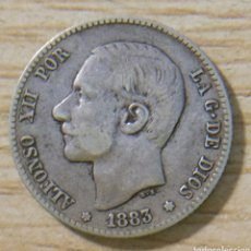 Monedas de España: 1 PESETA ALFONSO XII 1883 MS M. Lote 152612100