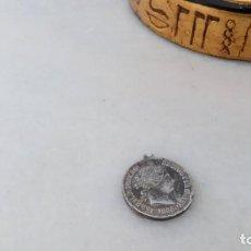 Monedas de España: MEDALLA MONEDA 40 CÉNTIMOS DE ESCUDO ISABEL II 1889. Lote 152761950