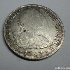 Monedas de España: MONEDA ESPAÑA CARLOS III -8 REALES 1787 MEXICO ENSAYADOR F M. PLATA. ESCASA. Lote 153237370
