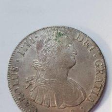 Monedas de España: CARLOS IV 1808 / 8 REALES POTOSÍ P. J. Lote 153253942