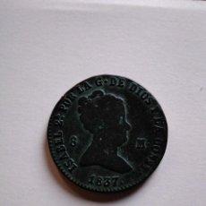 Monedas de España: 8 MARAVEDÍS DE ISABEL II, 1837 SEGOVIA,. Lote 153463490