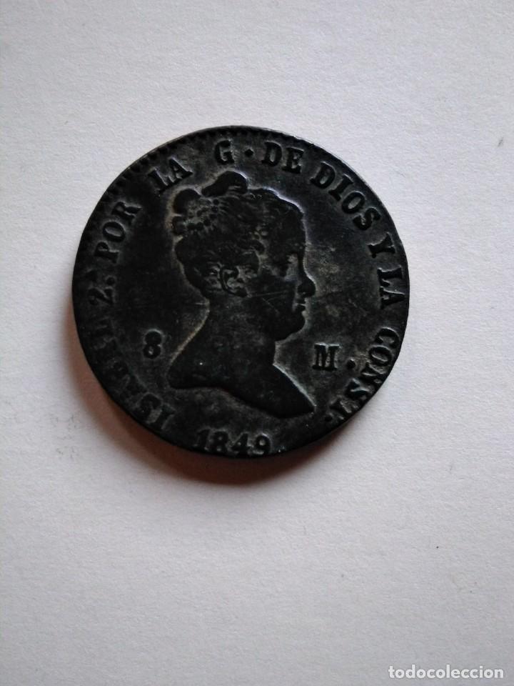 8 MARAVEDÍS, ISABEL II 1849 SEGOVIA (Numismática - España Modernas y Contemporáneas - De Isabel II (1.834) a Alfonso XIII (1.931))