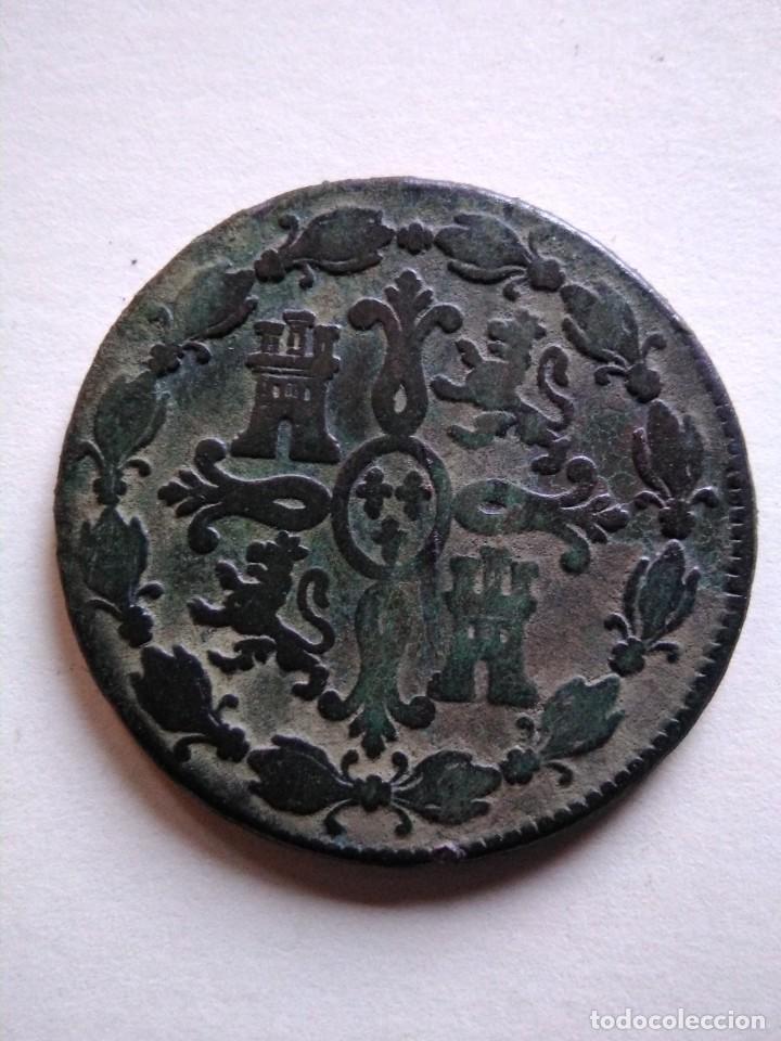 Monedas de España: Moneda de Carlos iii 1773, Segovia 8 maravedís - Foto 2 - 153465598