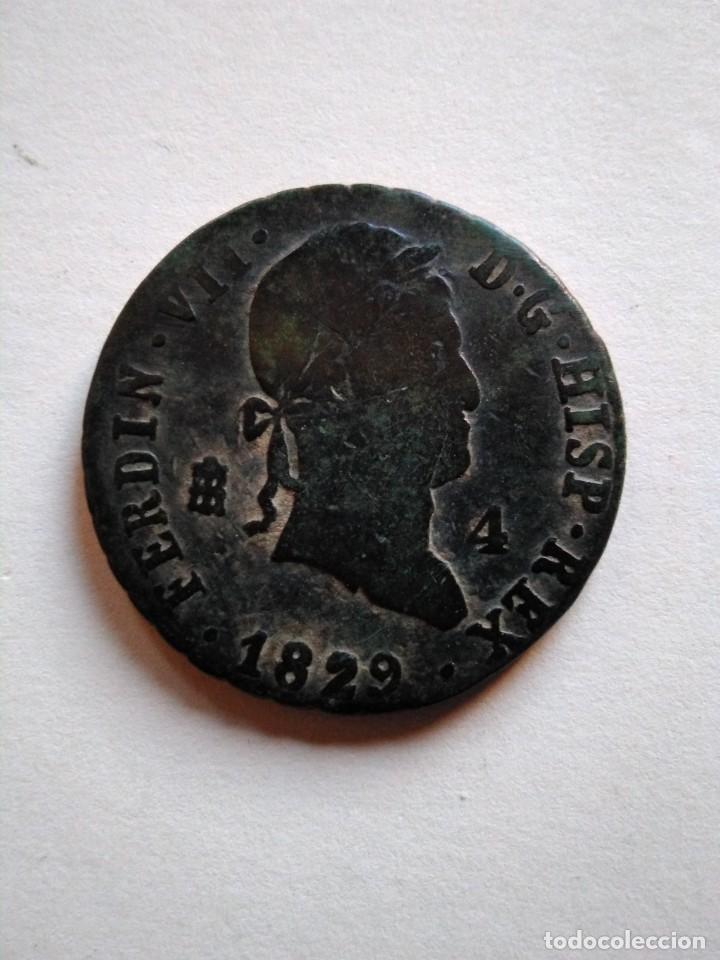 MONEDA DE 4 MARAVEDÍS, FERNANDO VII, 1829 SEGOVIA (Numismática - España Modernas y Contemporáneas - De Reyes Católicos (1.474) a Fernando VII (1.833))