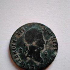 Monedas de España: MONEDA DE 4 MARAVEDÍS, FERNANDO VII 1827, SEGOVIA. Lote 153471778