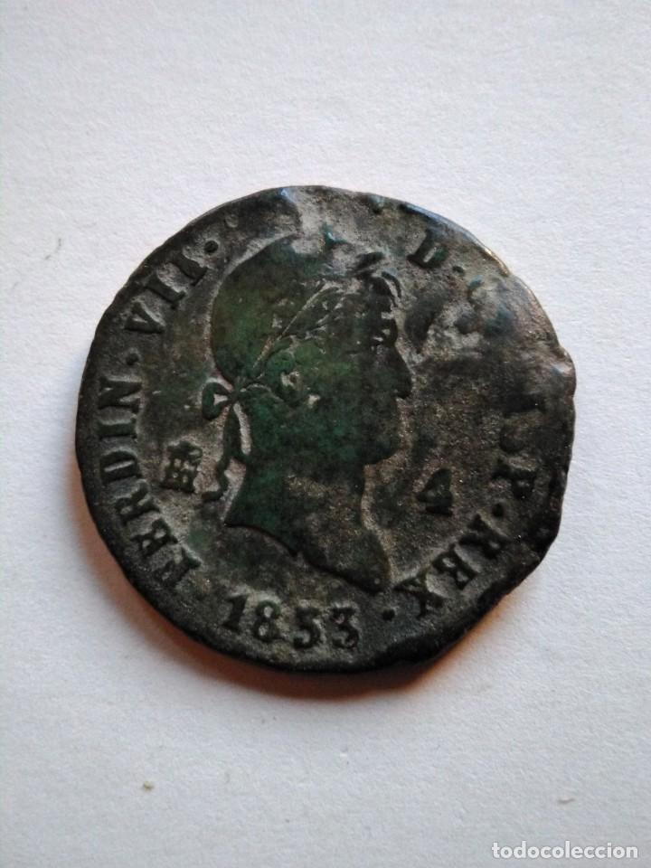 MONEDA DE 4 MARAVEDÍS, FERNANDO VII 1833, SEGOVIA (Numismática - España Modernas y Contemporáneas - De Reyes Católicos (1.474) a Fernando VII (1.833))