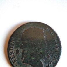 Monedas de España: MONEDA DE 8 MARAVEDÍS, FERNANDO VII 1829, SEGOVIA. Lote 153473234