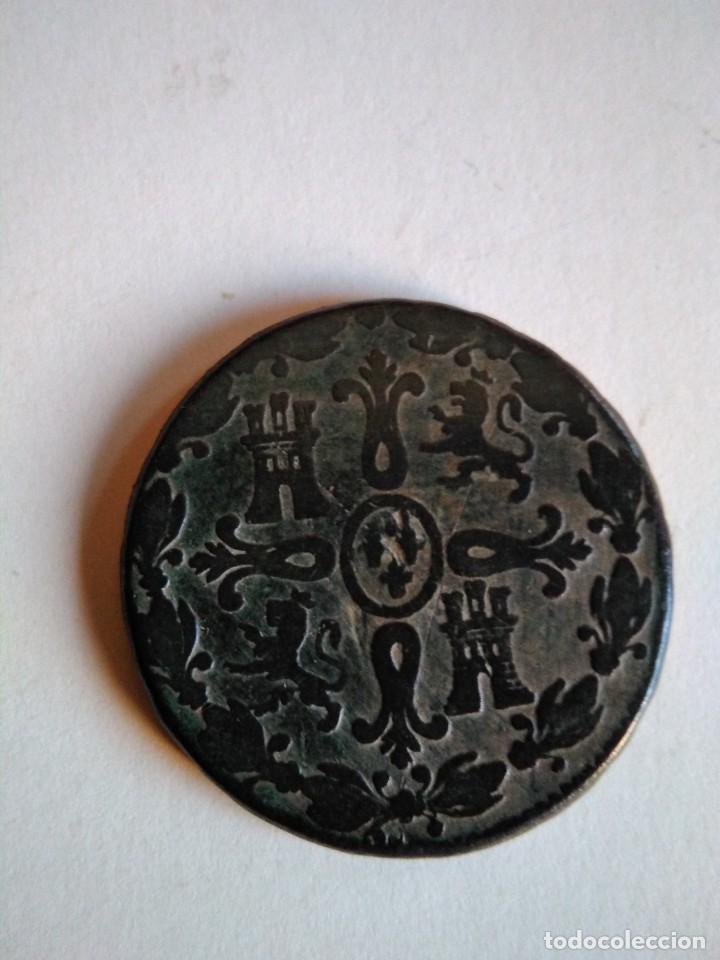 Monedas de España: Moneda de 8 maravedís, Fernando vii 1829, Segovia - Foto 2 - 153473234
