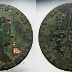 Monedas de España: MONEDA DE ISABEL II 8 MARAVEDIS 1845 CECA JUBIA. Lote 153478722