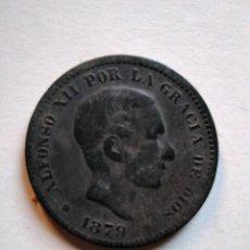 Monedas de España: 5 CÉNTIMOS, ALFONSO XII,1879 OM. Lote 153523686