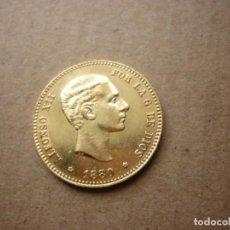Monedas de España: MONEDA ORO DE 25 PESETAS 1880 *80. Lote 153947386