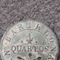 Monedas de España: 4 QUARTOS 1814, INVASIÓN NAPOLEÓNICA, 4 CUARTOS DE BARCELONA. Lote 154012906